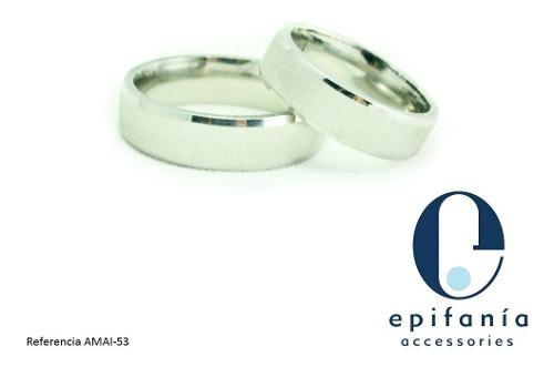 Anillos Aros De Matrimonio En Acero Inoxidable 4ta Parte