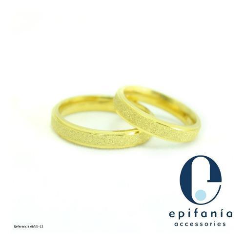 Aro Anillo De Matrimonio Compromiso Acero Inoxidab 2da Parte