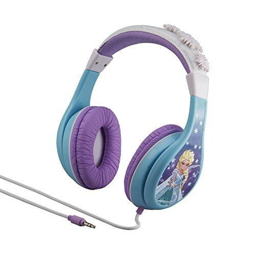 Audio Video Audifono Diseño Frozen Anna Elsa Para Niño Amz