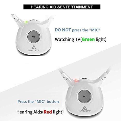 Audio Video Auricular Inalambrico Hearing Aid Artiste Amz