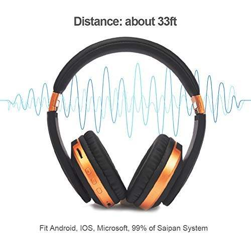 Audio Video Binbao Auricular Bluetooth Hi Fi Estereo Amz