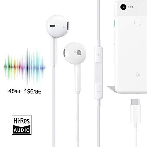Audio Video Solsop Usb Auricular Pixel 2 Para 2xl 3 Amz