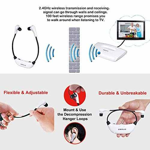 Audio Video Television Auricular Oreja Tv Hearing Aid Amz