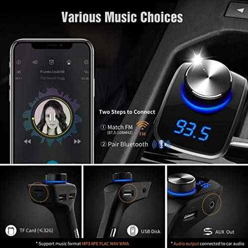 Audio Video Transmisor Fm Bluetooth Amz