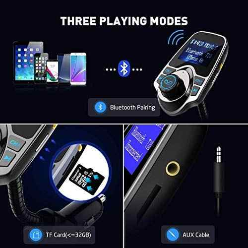 Audio Video Transmisor Fm Bluetooth Victsing Adaptador Amz