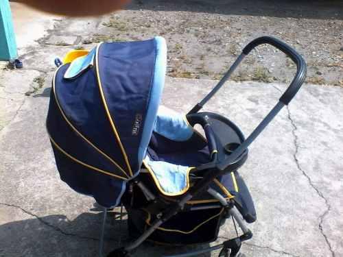 Coche Para Bebes Azul