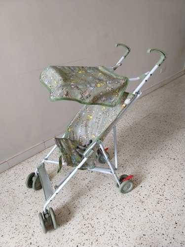 Coche Paragua Para Bebes Baby Start Maracaibo 20 Verdes