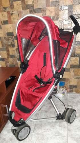 Coche Quinny Zapp Rojo Con Su Bolso