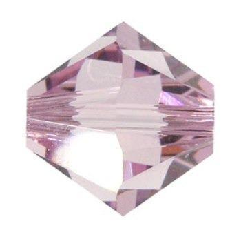 Cristal Swarovski 4 Mm (50 Unidades) Amatista. Bisuteria