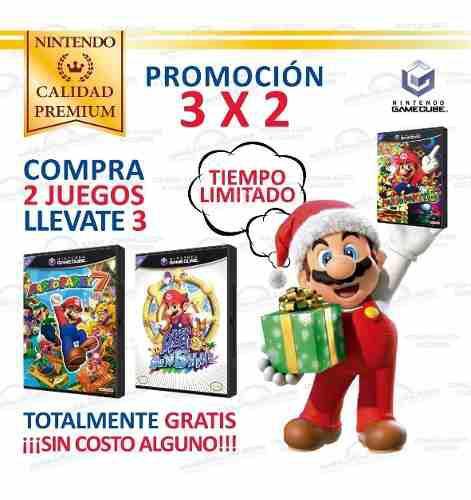 Grandes Juegos Originales Para Consolas Nintendo Gamecube
