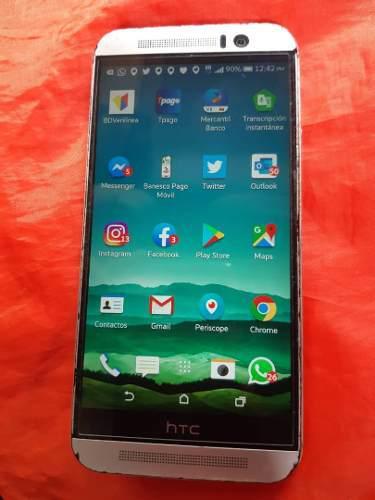 Htc M9, 32 Giga, Color. Plata, Acepta Micro Sd 128 Giga