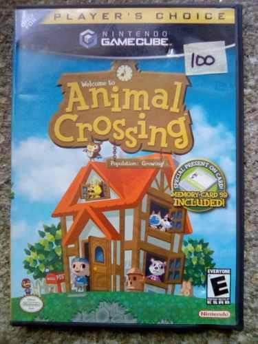 Juego De Gamecube Animal Crossing