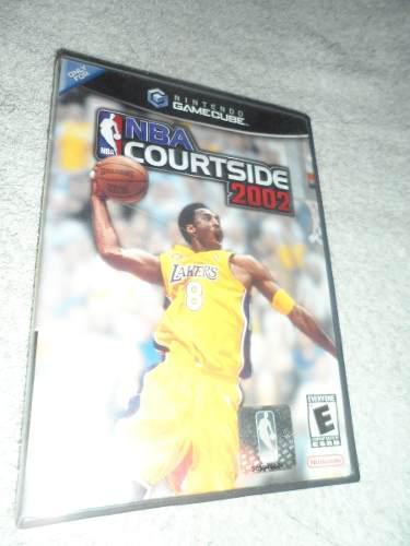 Juego De Nintendo Gamecube Nba Courtside 2002