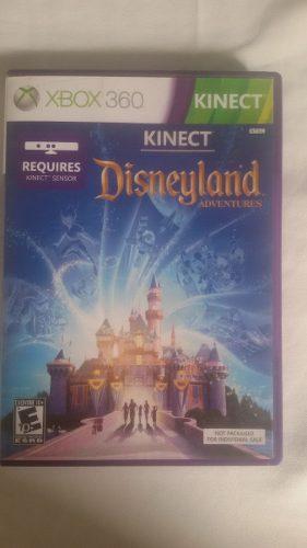 Juego Orginal Disneyland Adventure Kinect Xbox 360 Usado