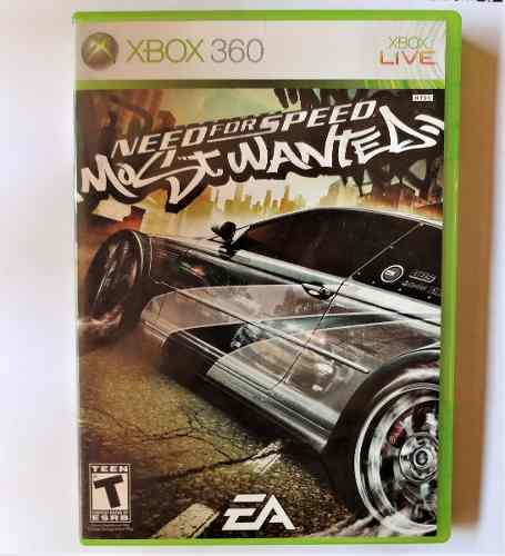 Juego Para Xbox 360 Original Need For Speed Most Wanted