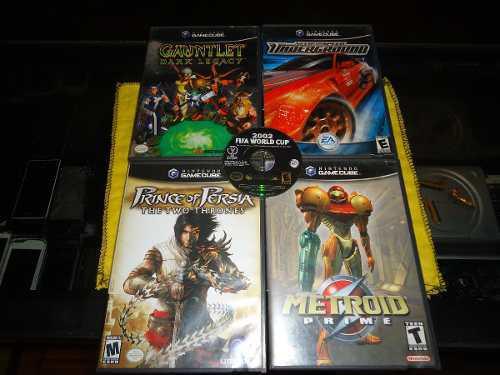 Juegos Originales De Nintendo Game Cube Compatibles Con Wii