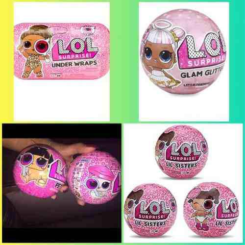 Lol Gliter Surprise! Doll Series 4 Mascota Lili Sister