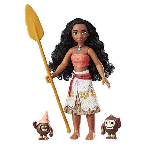 Muñeca Disney Moana De Oceania Kakamora Adventure Habro