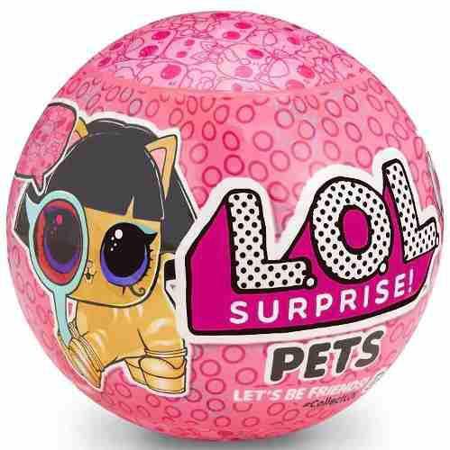 Muñeca Lol Surprise Pets Serie 4 Original
