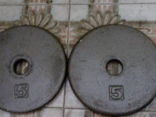 Par De Discos Para Pesas De 2lb