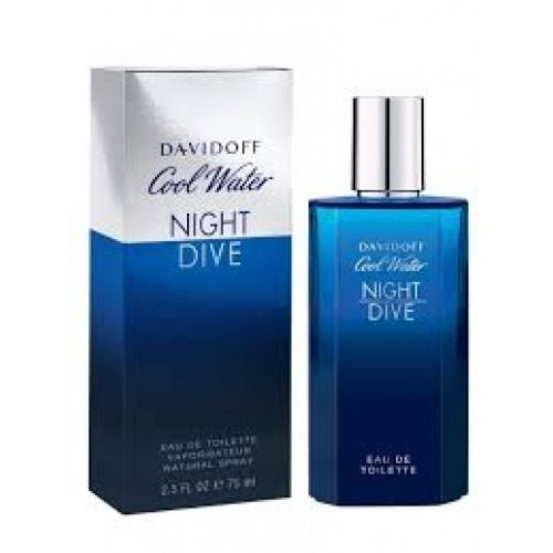 Perfume Cool Water Night Dive De Davidoff Para Caballero