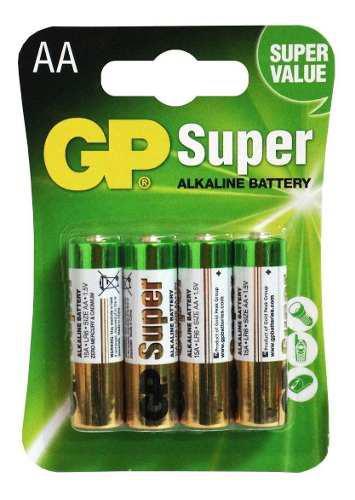Pila Gp Aa Super Alcalina Blister 4