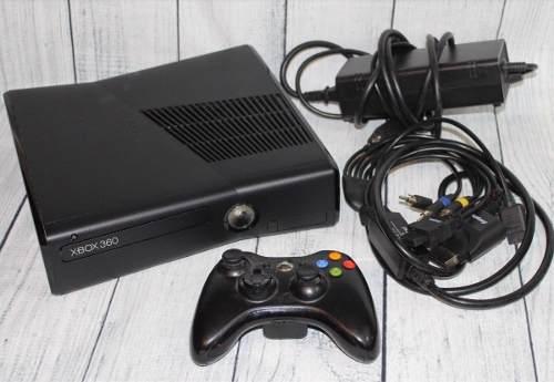 Xbox 360 Slim Consola Negra 4gb