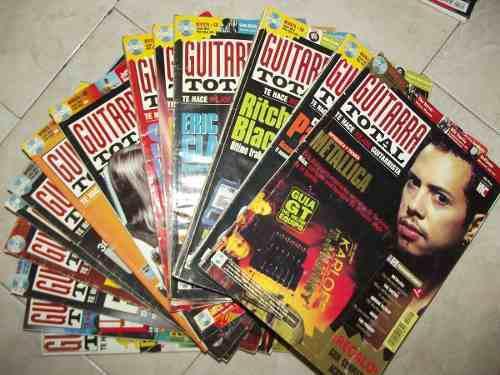 26 Revistas Guitarra Total Incluye La N° 1 Con Cds
