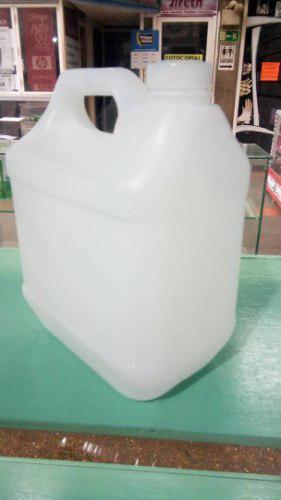 5 Envases De Galon Plasticos Usados De 4 Litros