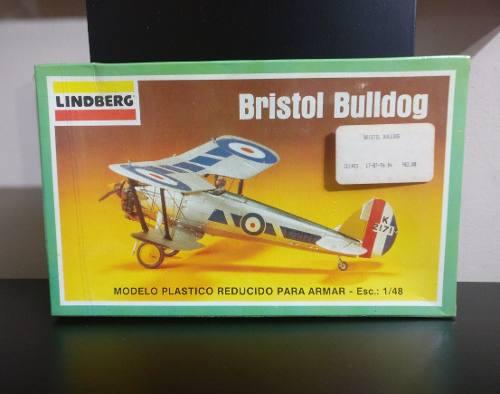 Avión Bristol Bulldog Lindberg 1/48 Totalmente Nuevo Oferta