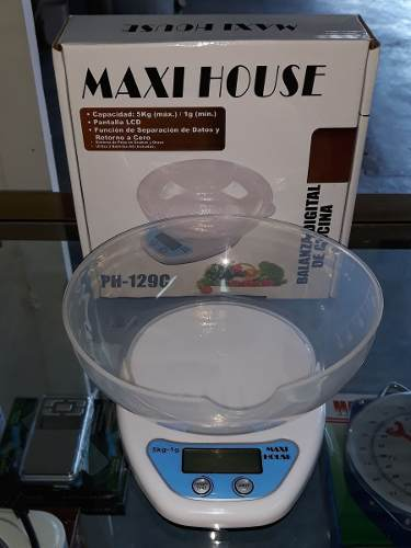 Balanza Peso Digital Cocina 5kg Digital Maxi House