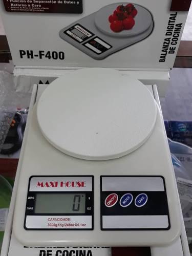 Balanza Peso Digital Cocina 7 Kg Digital Maxi House Nuevo!
