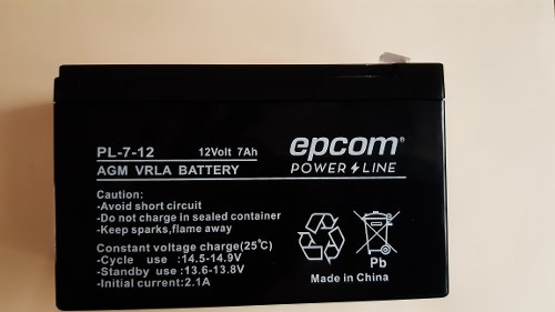 Bateria 12v 7ah Para Ups Cerco Eléctrico Alarmas