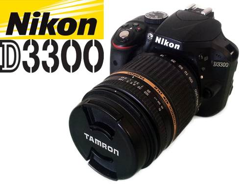 Cámara Digital Nikon D Con Lente Tamron Af mm