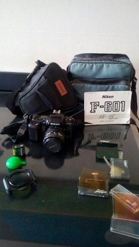 Cámara Nikon F-601 Profesional (de Rollo)