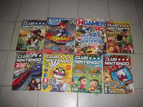 Combo De 8 Revistas Club Nintendo Y Ngamer Como Nuevas