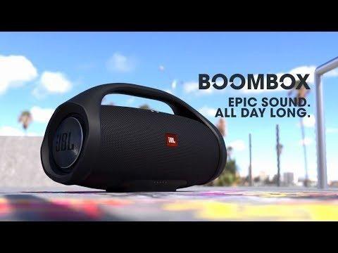 Corneta Jbl Boom Box Gigante