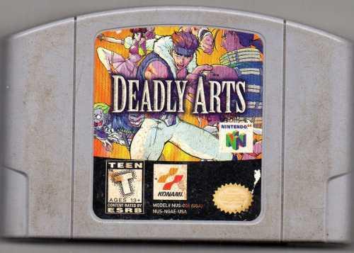 Deadly Arts. Nintendo 64.video Juego Original Usado. A4