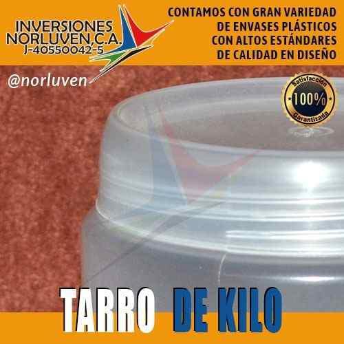 Envases Plásticos Tarro 1000 Cc