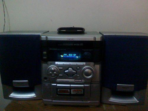 Equipo De Sonido Aiwa De 3 Cds