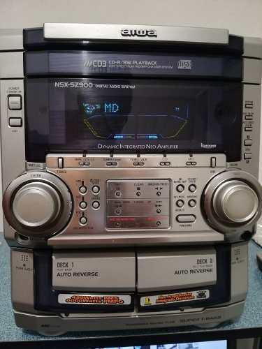 Equipo De Sonido Aiwa Nsx-sz900 480w Rms
