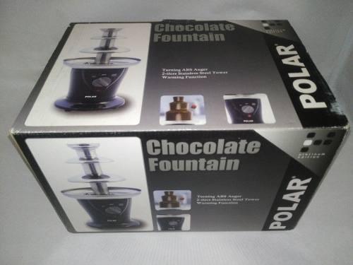 Fuente De Chocolate 3 Niveles Mediana