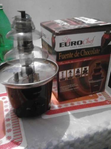 Fuente De Chocolate Euro Chef Linea Profesional