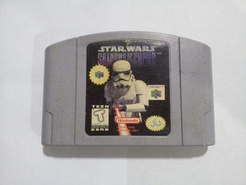 Juego De Nintendo 64 Star Wars Shadows Of The Empire
