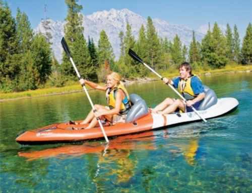 Kayak Doble 2 Personas Sevylor Sit-on-top Coleman Nuevo Caja