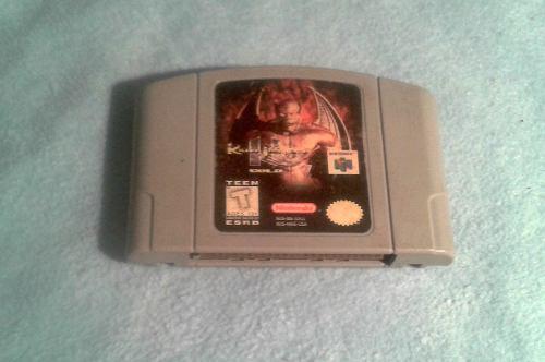 Killer Instinct Gold Nintendo 64 En Excelente Estado