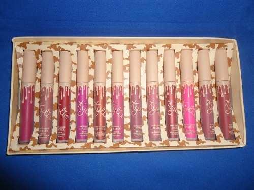 Kylie Jenner Labiales 12 X 1 Paquete (distintos Tonos)