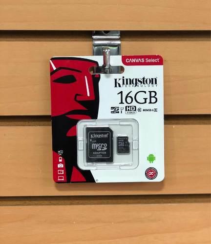 Memoria Kingston Micro Sd Hc 16 Gb Original