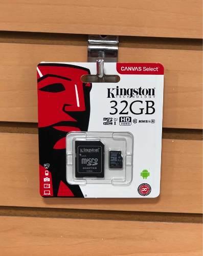 Memoria Kingston Micro Sd Hc 32gb Original