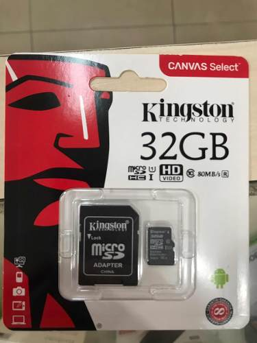 Memoria Micro Sd 32 Gb Kingston Original